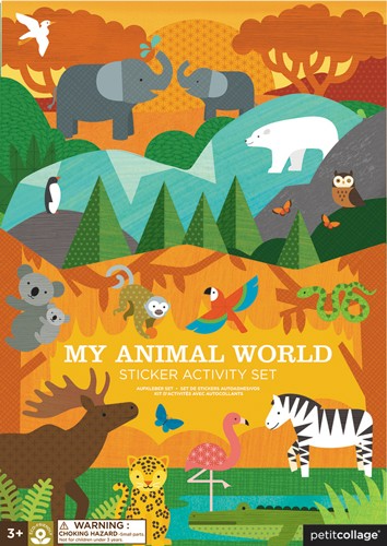 Sticker Activity Set Tiere von petitcollage
