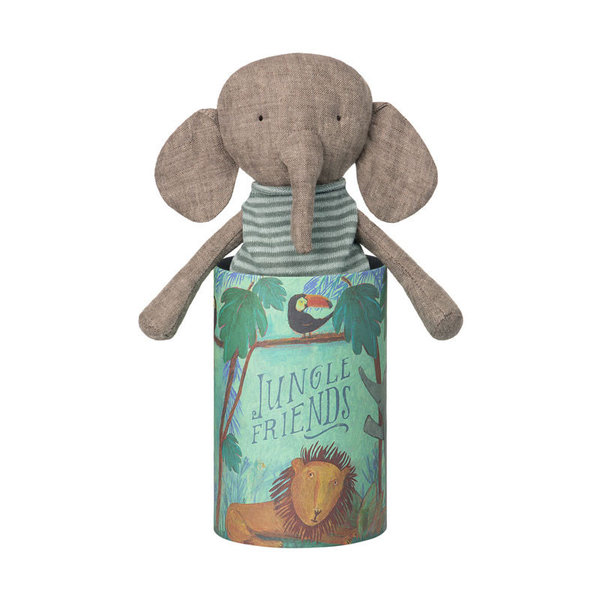 MAILEG Kuscheltier Elefant Jungle Friends