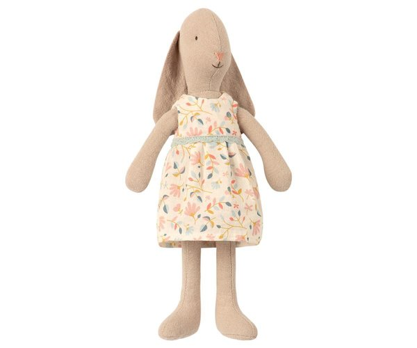 BUNNY SIZE 1, FLOWER DRESS, Maileg