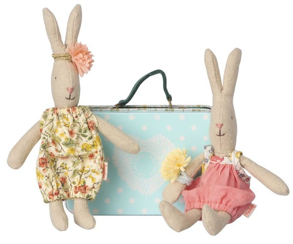 MICRO RABBIT W. 2 SETS OF CLOTHES, Maileg