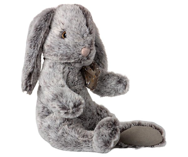 FLUFFY BUNNY, LARGE - GREY, Maileg